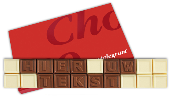 Chocotelegram 20 letters | Barry Callebaut chocolade | UTZ
